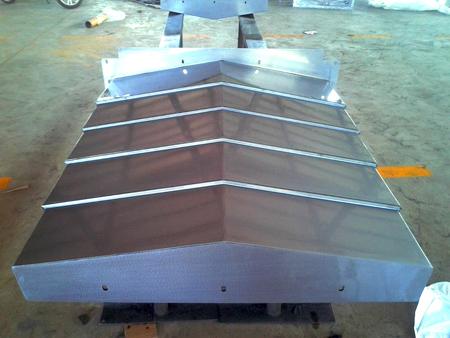 钢板机床导轨防护罩
