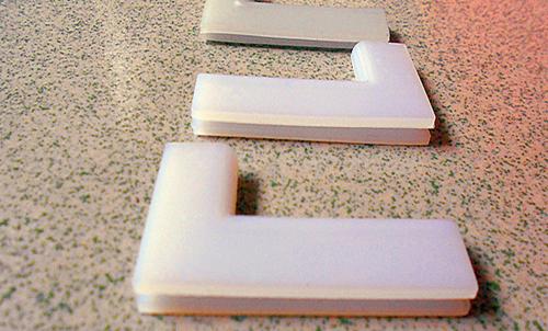 数控机床钢板防护罩导向滑块