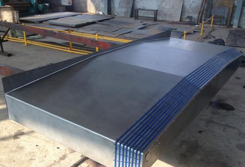 铣床钢板防护罩