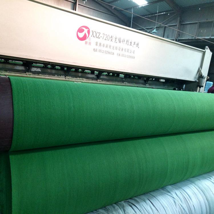 环保养护绿色土工布