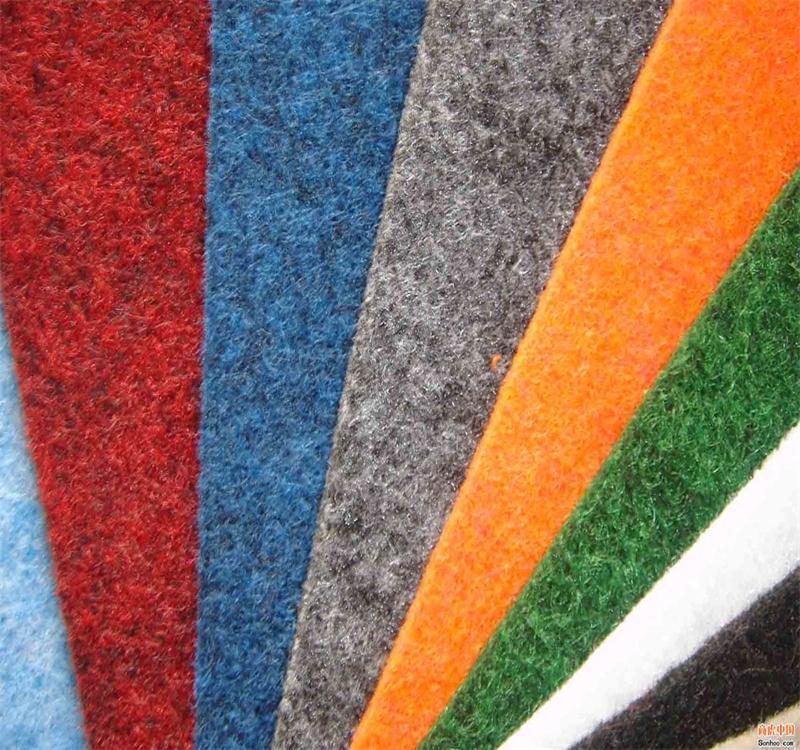 广交会现场展览地毯图片