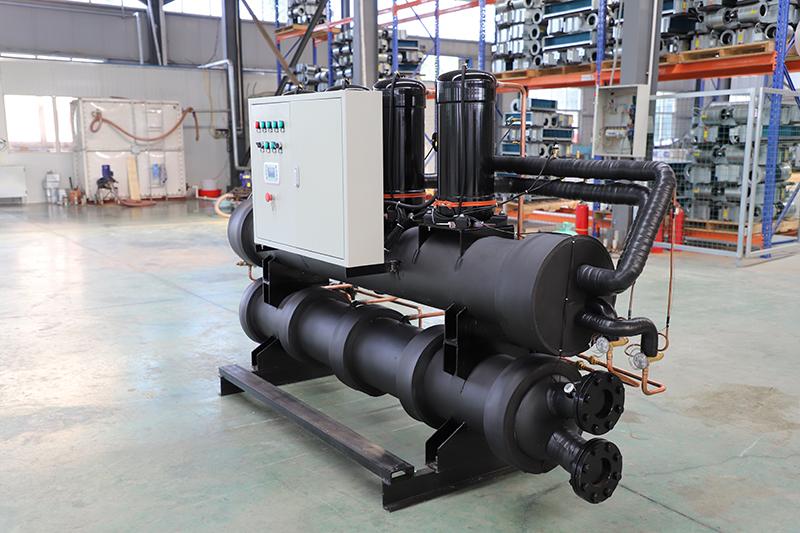 水源热泵系统具有节能与环保的特点