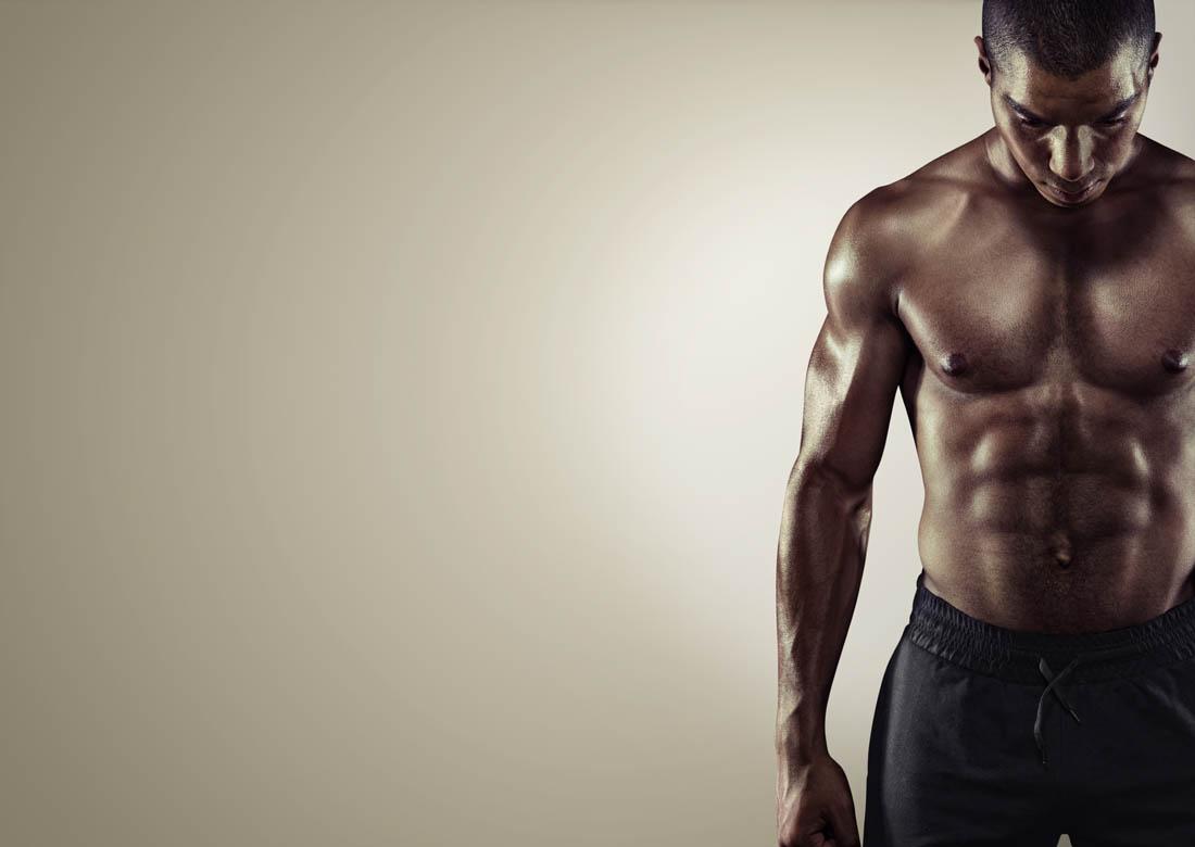 训练器材-只要胸肌练得好,男人也能很性感!