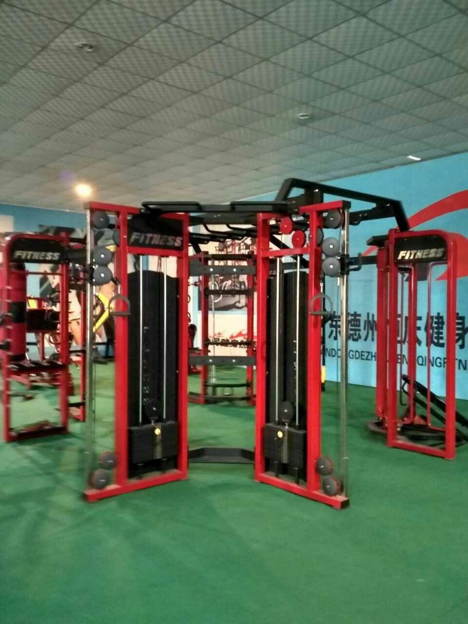 健身器材——综合训练器材的使用方法