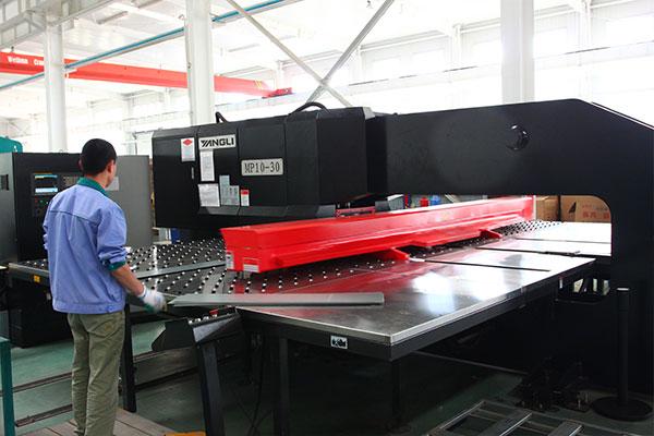 Cooled module unit production line