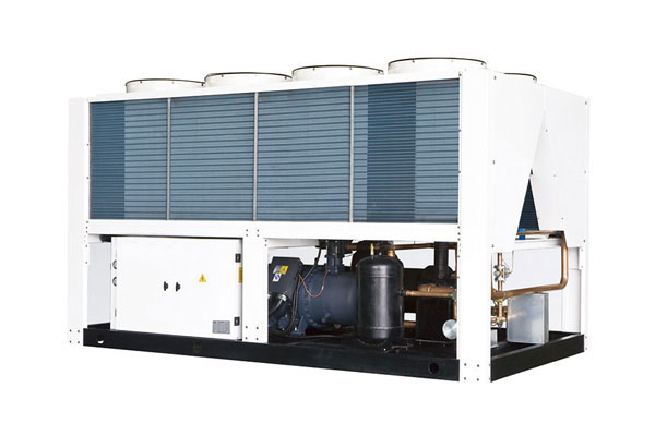 Air cooled screw cold and heat water unit
