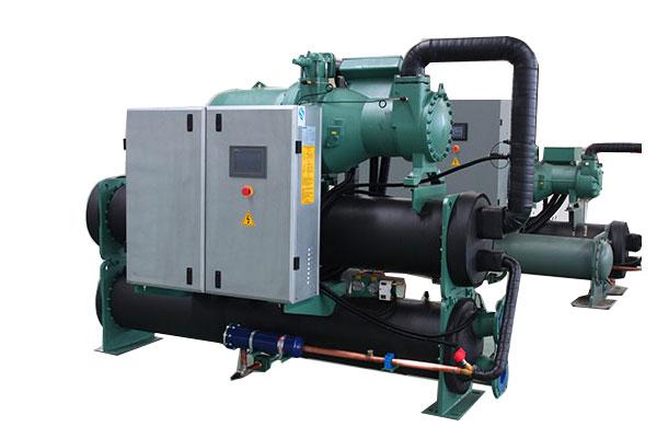 Water source hot pump unit